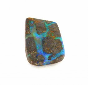 10.87ct Natural Loose Boulder Opal Loose Gemstone