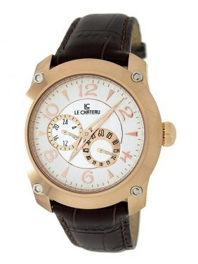 Le Chateau Rose-gold Automatic Watch See-thru Back