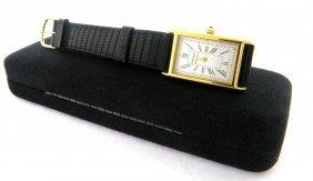 Tiffany & Co. Gold Plated Portfolio Men's Watch