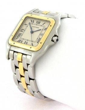 Cartier Panthere Men's 18k Gold Watch