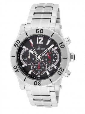 Le Chateau Steel Men's Sports Watch Quartz Chronograph