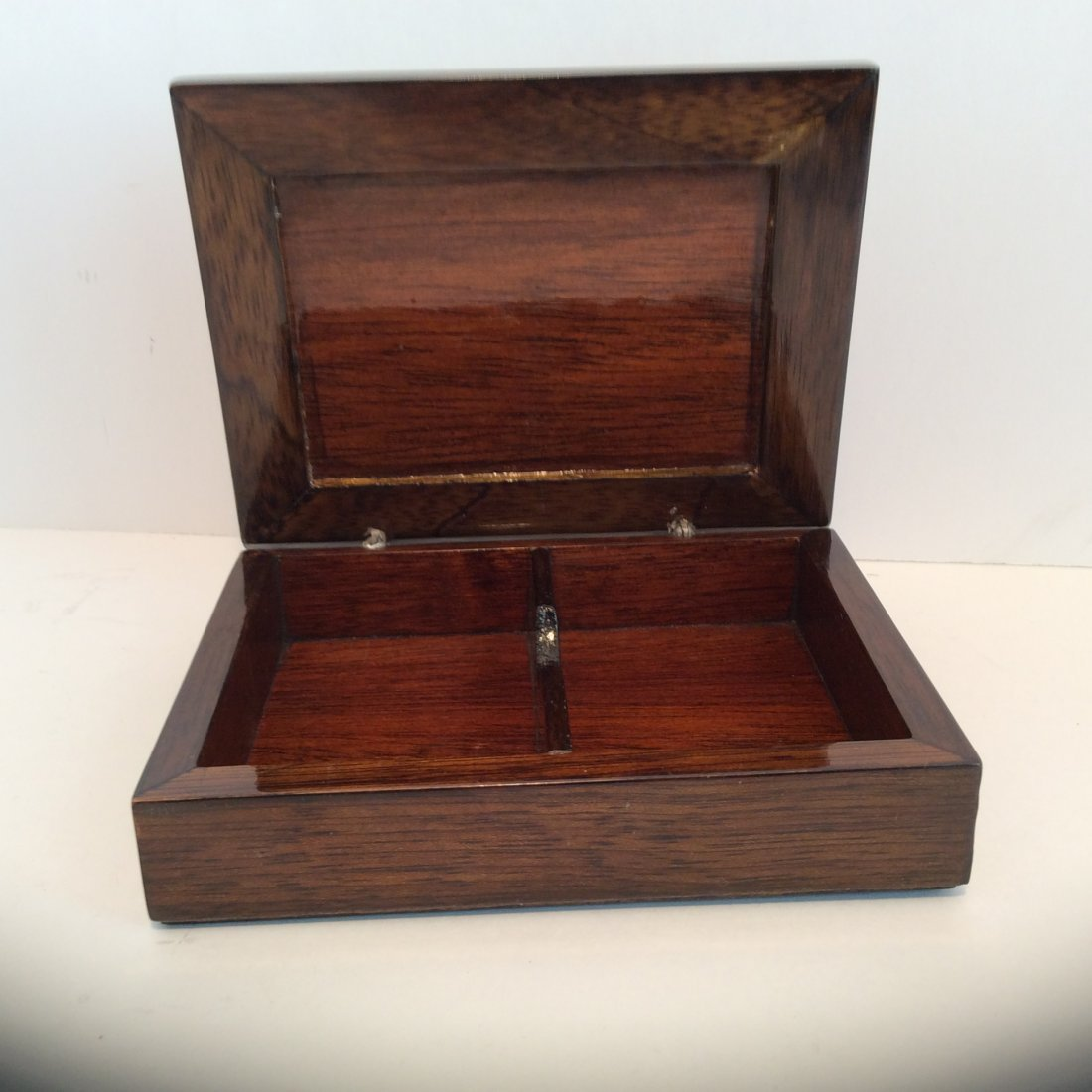 Sterling Silver and Black Walnut Card Box - 3