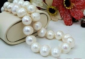 Real Pearl 13-15mm Necklace