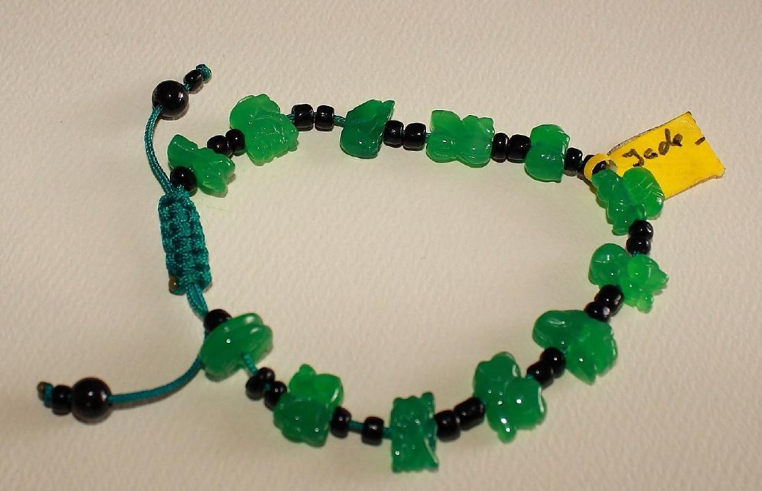 Carved Jade Bracelet