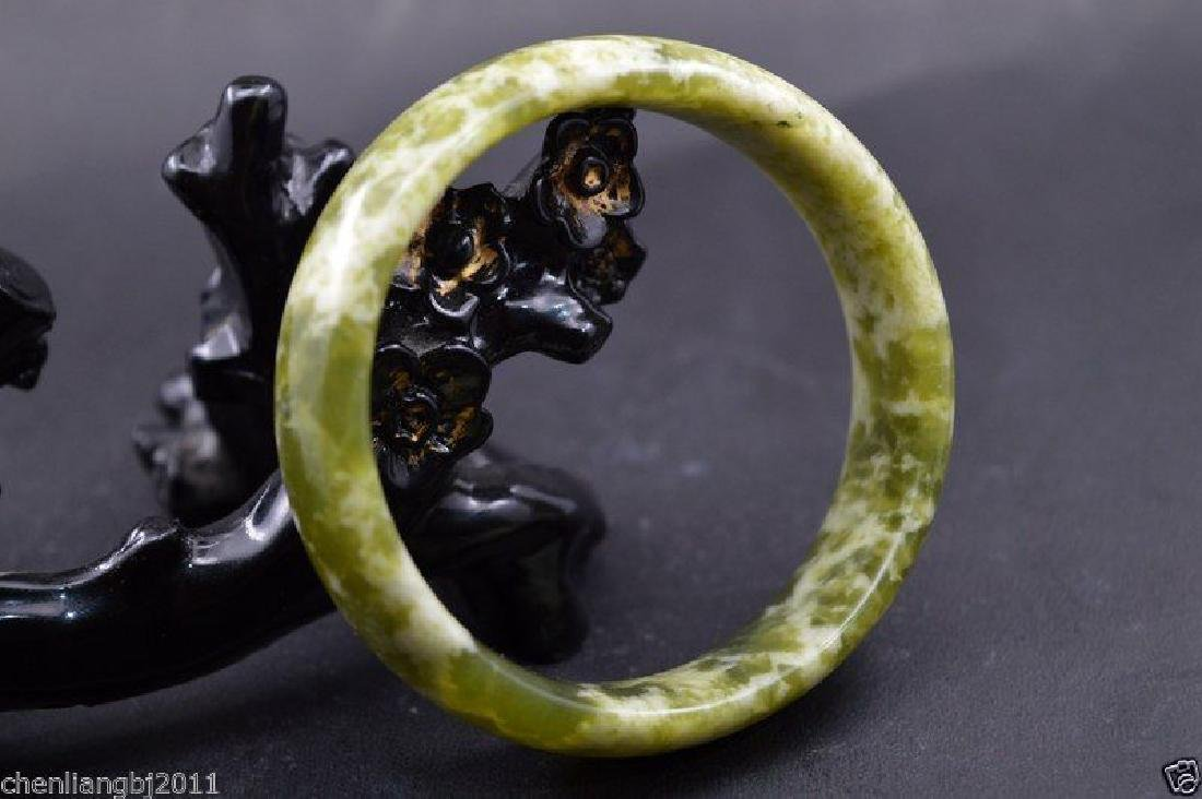 old 100% natural jade hand carved bracelet