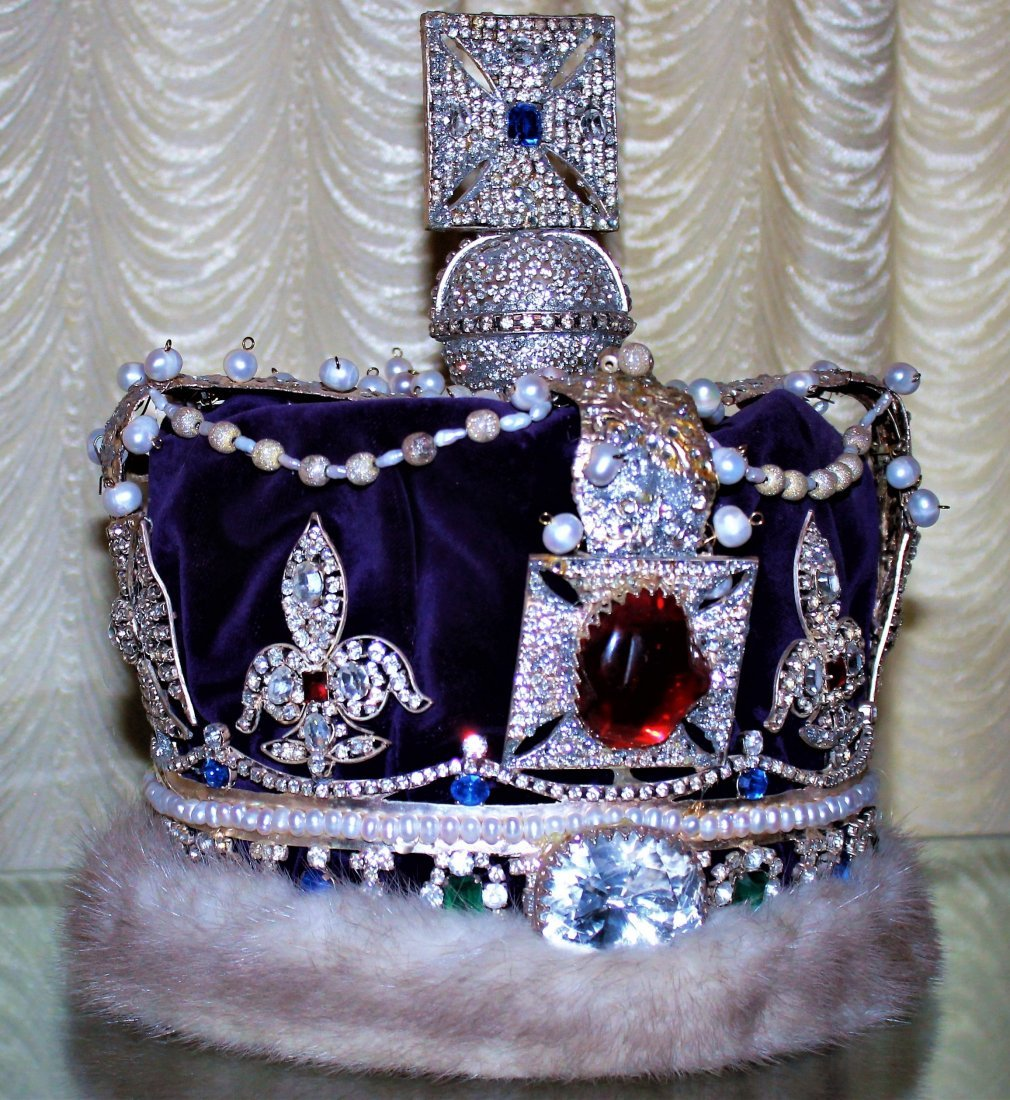 one of four made replica of Queen Victoria Crown