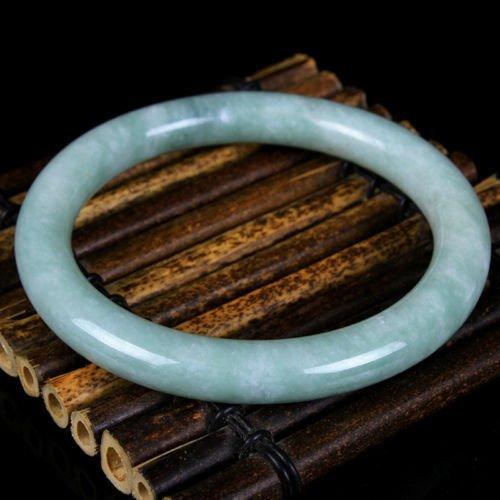 old hand carved jade bracelet (grade A) fine jade brace