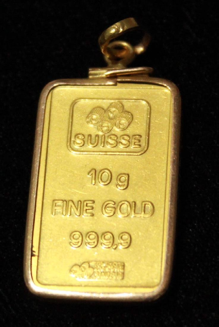 24K Solid Gold Pendant - 2