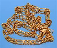 22K Gold Chainlink Necklace
