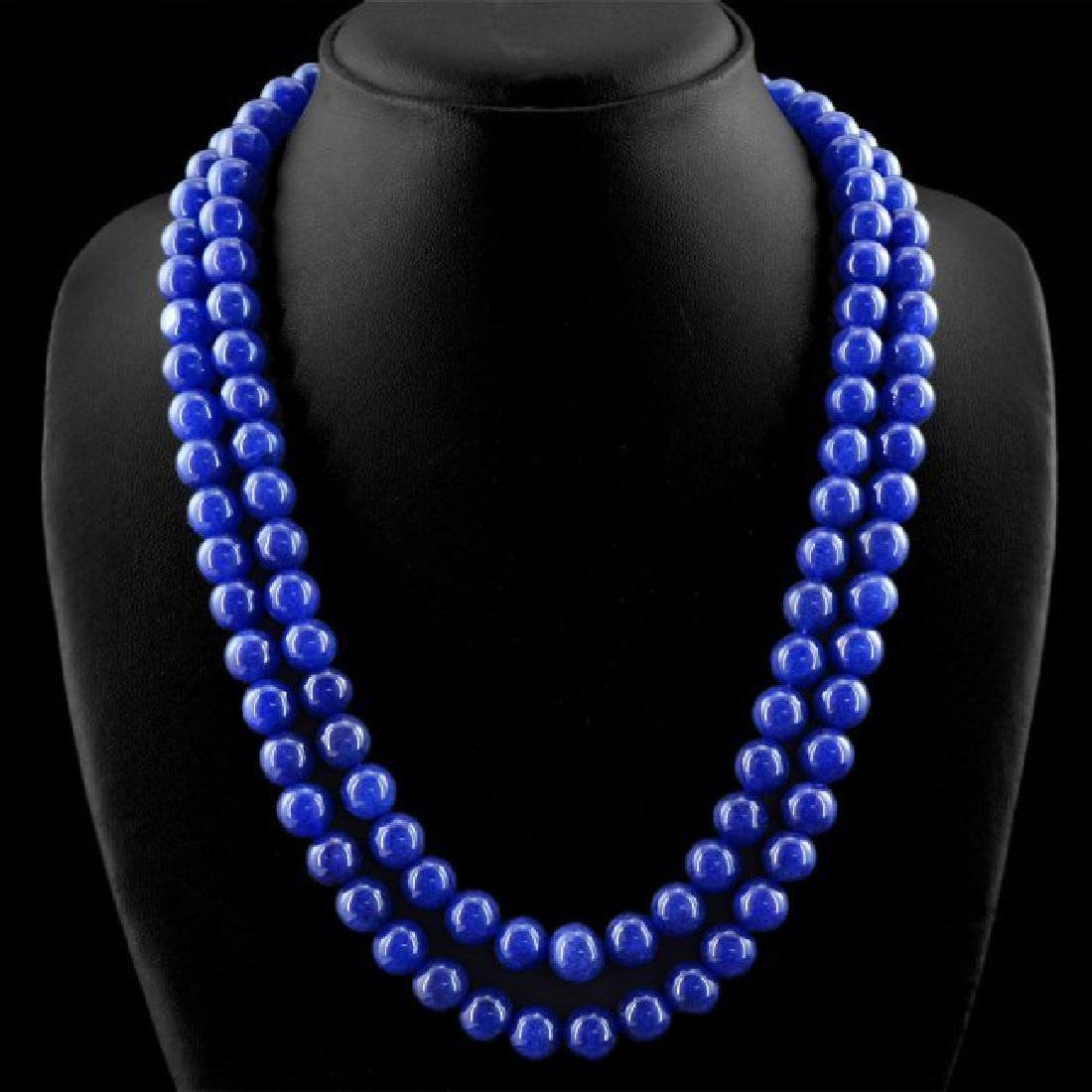 EARTH-MINED-2-LINE-RICH-BLUE-SAPPHIRE-ROUND-SHAPE - 2