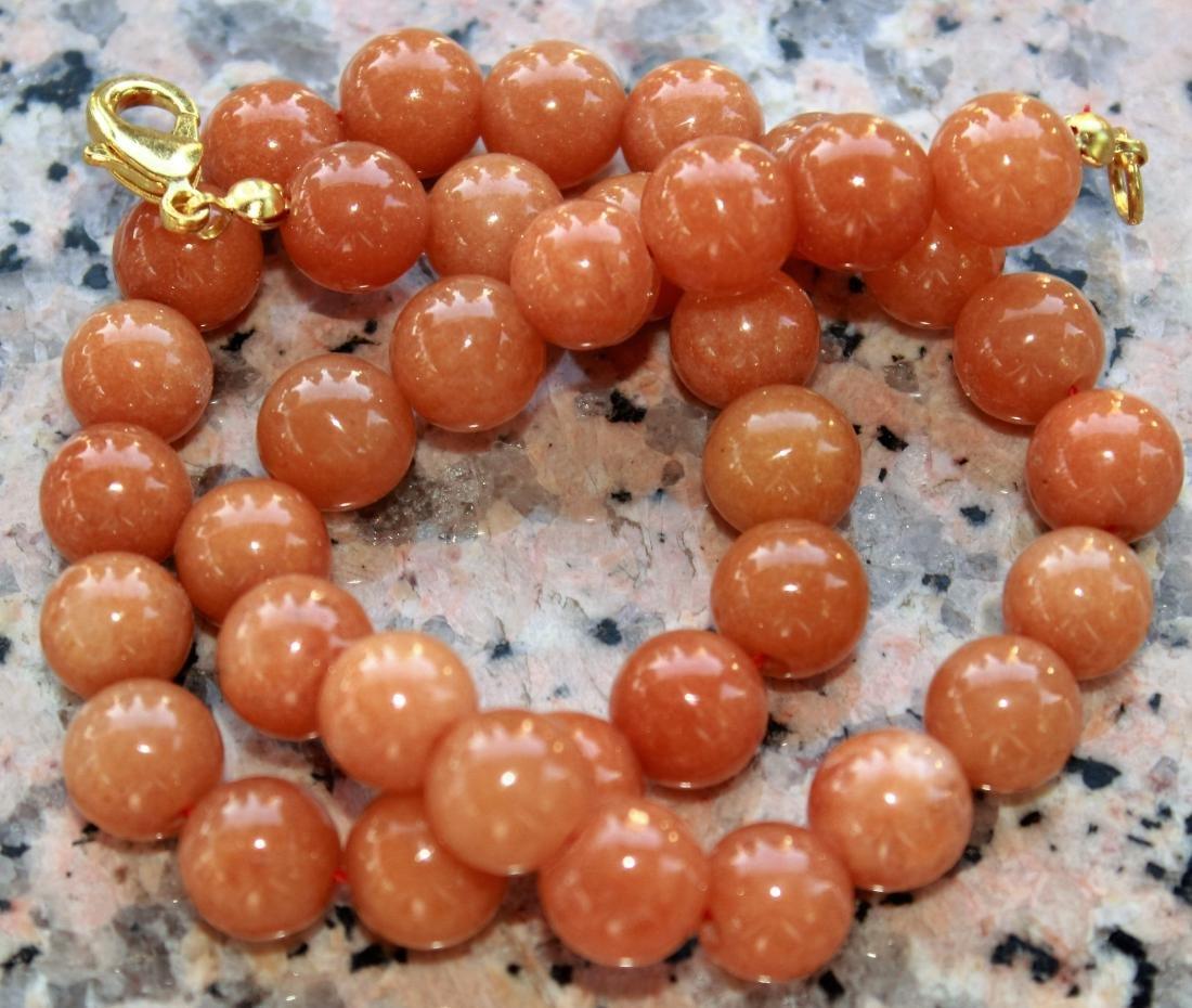 Natural Jadeite Necklace - 2