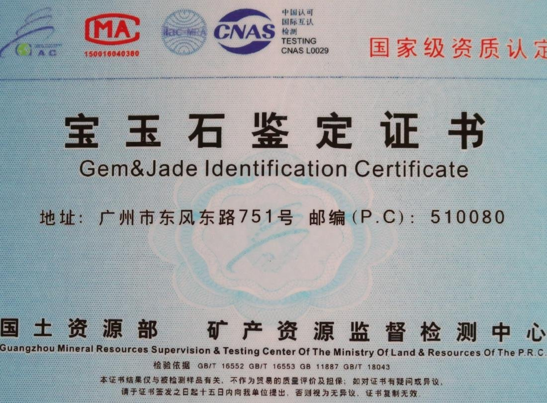 Certified Natural Emerald Green Jadeite Jade Bangle - 4