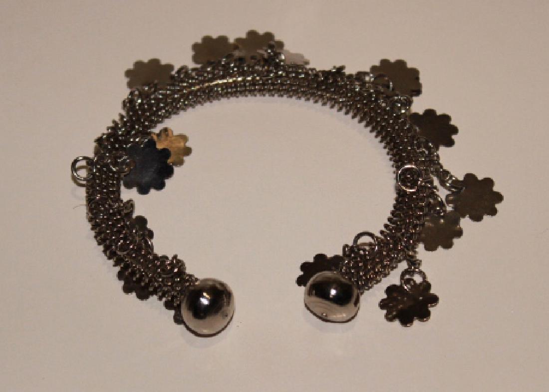Silver Charm Bracelet - 2