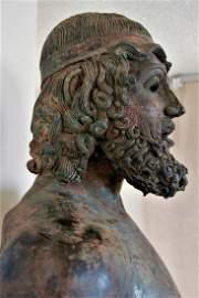 Greek Bronze, Warrior ,  ancient egyptian