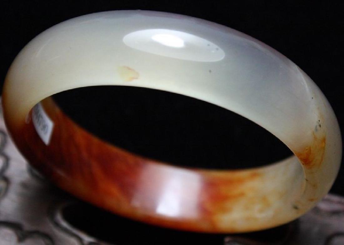 60mm-Certified-Genuine-100-Natural Jade-Bangle-Bracelet