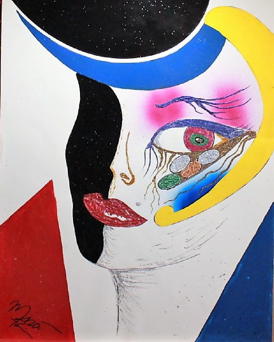 Original by Mira Paris Acrylic on Paper