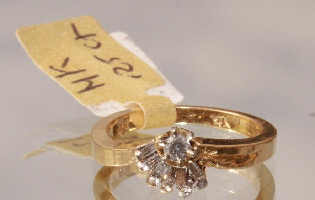 1/4 ct Diamond in 14K Yellow Gold