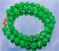 Natural Jadeite Necklace