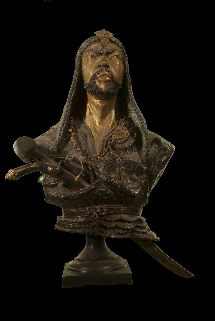 Emil Epple life size Bronze Warrior/Arab Shake - 2