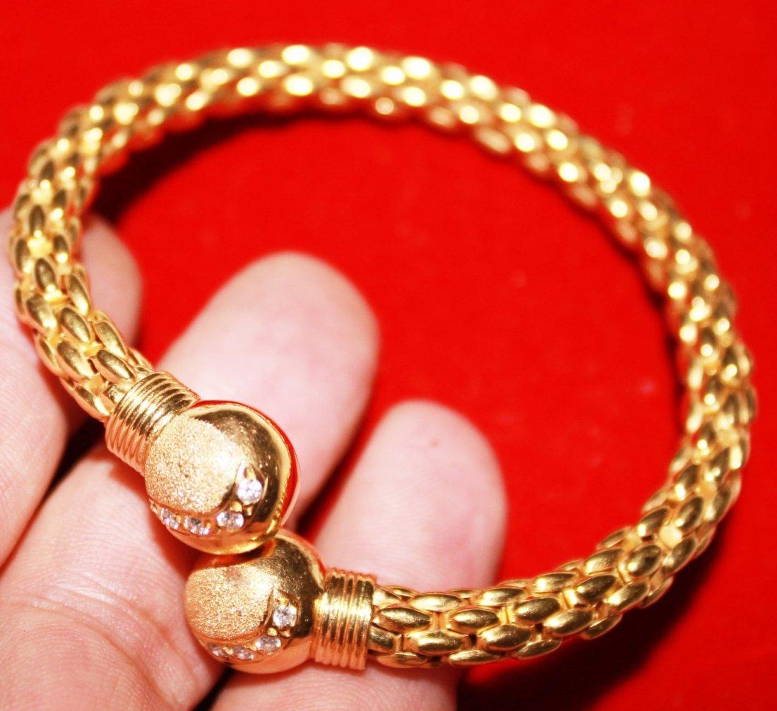Ladies 22K Solid Gold Bracelet