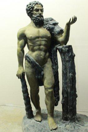 Life Size Hercules By Benedetto Boschetti