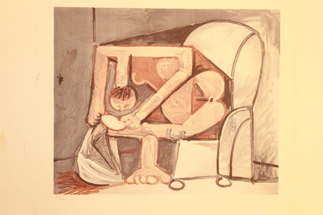 Femme a la Toilette by Picasso