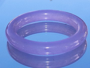 Chinese & Natural Beautiful Lavender Purple Jade Bangle
