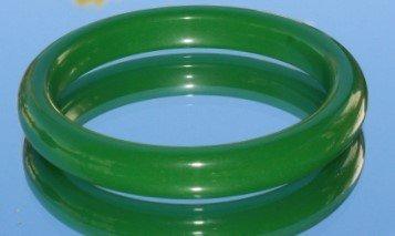 Natural Green Jade Jadeite Bangle Bracelet