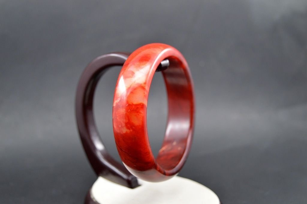 Beautiful Genuine Natural Jade Gems Bangle - 2