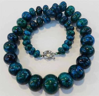 10-20mm Azurite Gemstone Phoenix Stone Round Beads