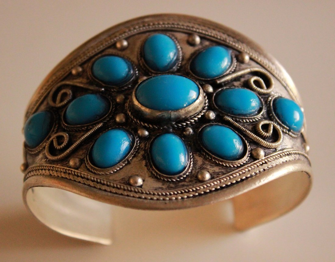 Turquoise Silver Bracelets