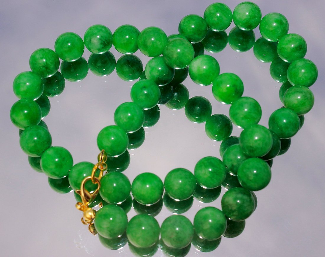Natural Jadeite Necklace