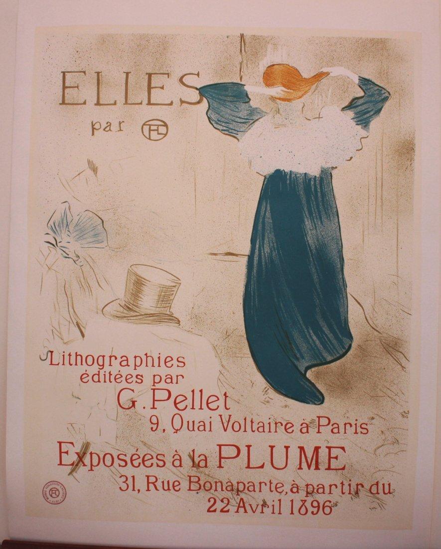 Elles by Henri Toulouse-Lautrec Museum Seal
