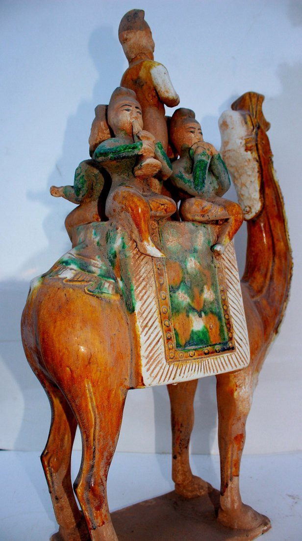 Large Tang Musicians on Camel - 2