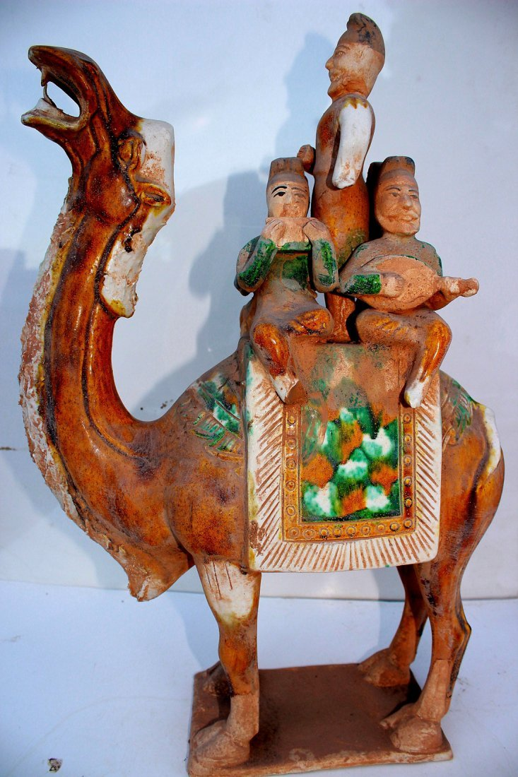 Large Tang Musicians on Camel - 4