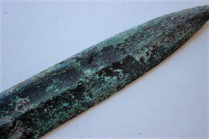 bronze  engraved with the ancient text (206 BCE-220 CE) - 5