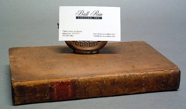 767: 18TH CENTURY FIRST EDITION BOOK, A View of