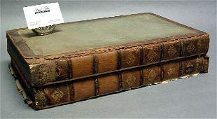 806: 18TH CENTURY TWO VOLUME BOOK, A Complete Bo