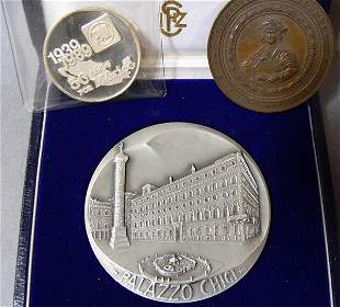 Medallions, Two Silver & One Bronze