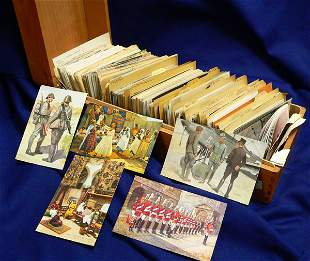 Hundreds of Postcards, European and African