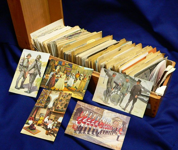 1036: Hundreds of Postcards, European and African