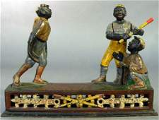 323: 19th C. Cast Iron Mechanical Bank.