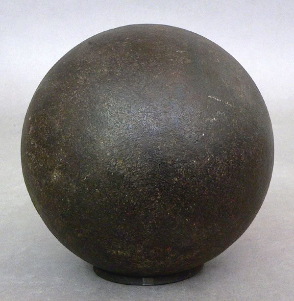103: An Iron Cannon Ball, Approx. 20 lbs.