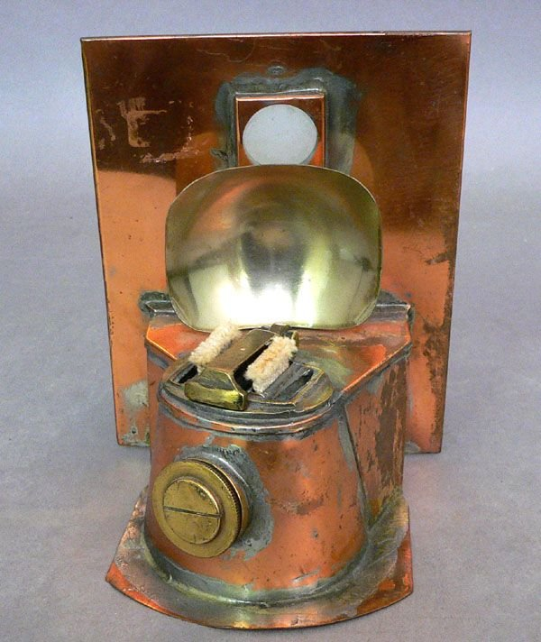 107: A Copper Lantern Base