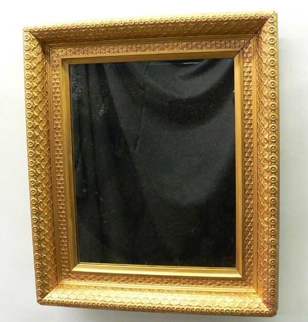 605: A Vintage Frame with Modern Mirror