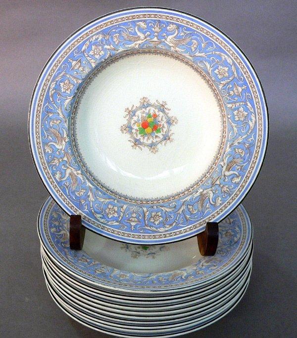 611: Eleven Myott Staffordshire Medici Bowls