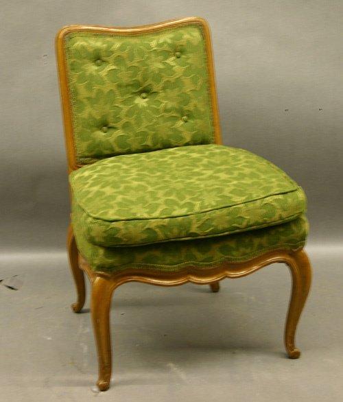 614: A Fruitwood Boudoir Chair