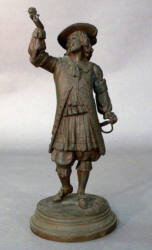 617: Cast Figure of a Cavalier