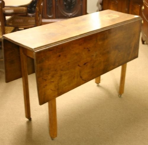 691: 18th C. Tiger Maple Chippendale Table