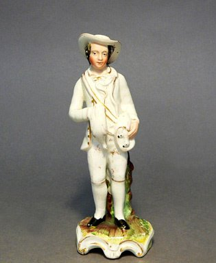 655: 19th C. Staffordshire Figure of a Man.